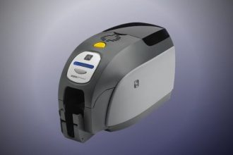 Zebra zxp-3 ID card printer