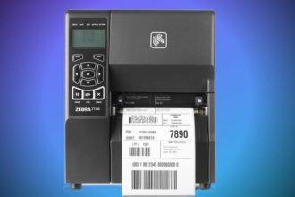 Zebra zt230 printer 203dpi