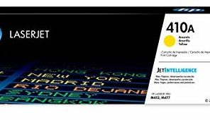 HP CLP M452NW TONER # 410A-YELLOW