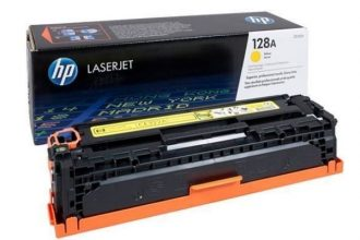 HP 128A YELLOW TONER