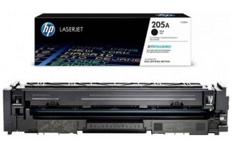 HP 205A BLACK ORIGINAL LASERJET TONER CARTRIDGE, CF530A